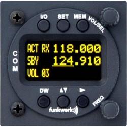 Ricetrasmittente VHF Funkwerk ATR833 LCD