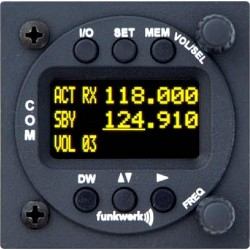 Funkwerk ATR833 VFR Transceiver LCD
