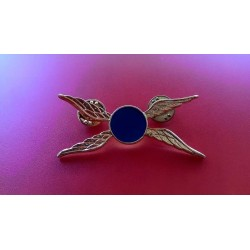 Civil Helicopter Brooch