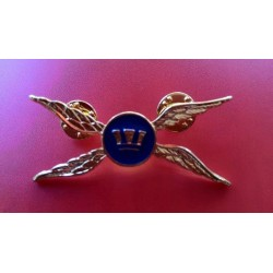 Military Helicopter Brooch