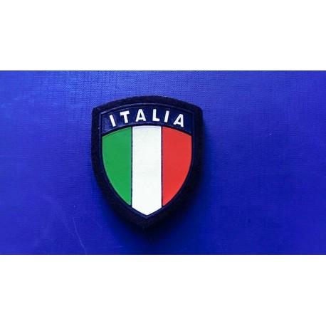Patch Tear Scudetto Italy plasticized Blue