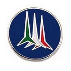 Spilla Pulce Frecce Tricolori  1,80 cm Smaltata