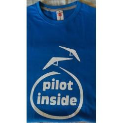 """T-Shirt """"PILOT INSIDE"""" Unisex"""