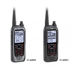 ICOM IC-A25C  GPS & Bluetooth ( 8,33Khz)
