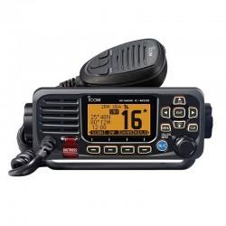 Icom IC-M330E Ricetrasmettitore Fisso VHF Nautico Nero con DSC