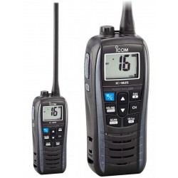 Icom IC-M25EURO Ricetrasmettitore portatile VHF  galleggiante Grigio