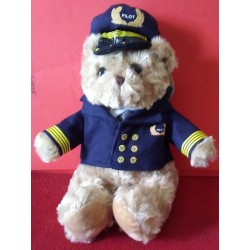 Aviator Bear Plushes 25cm.