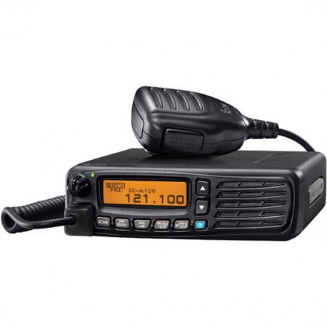 ICOM  IC-A120E - 8,33 Khz Ricetrasmettitore Aeronautico VHF Veicolare