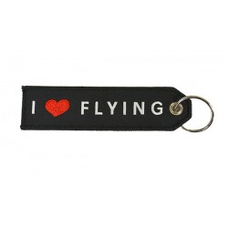 Key Ring I LOVE FLYING