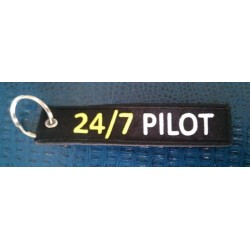 Key Ring  Portachiavi 24/7 PILOT
