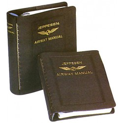 "IFR Manual Binder with 1 ""rings Leatherette"